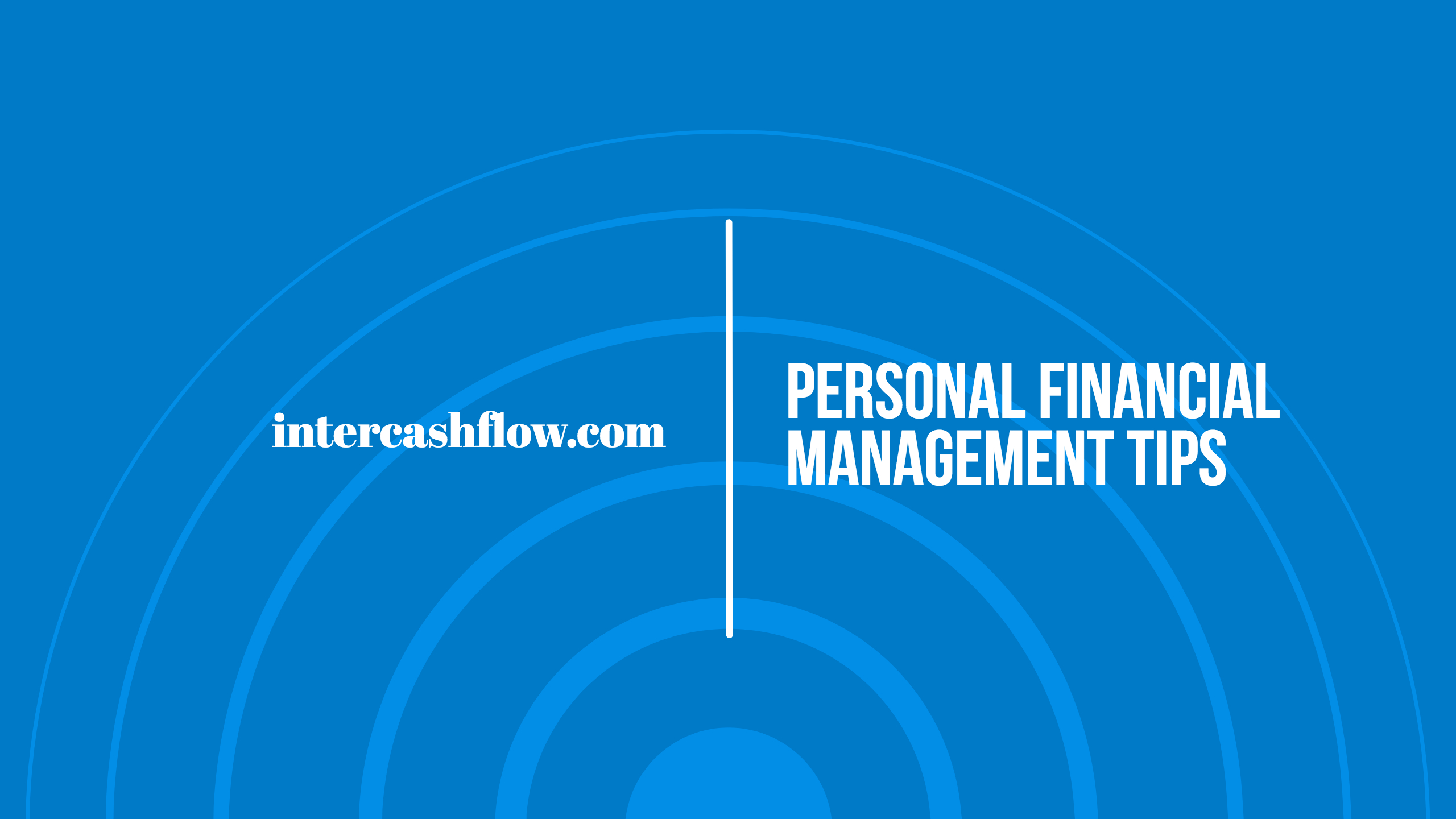 Personal financial management tips